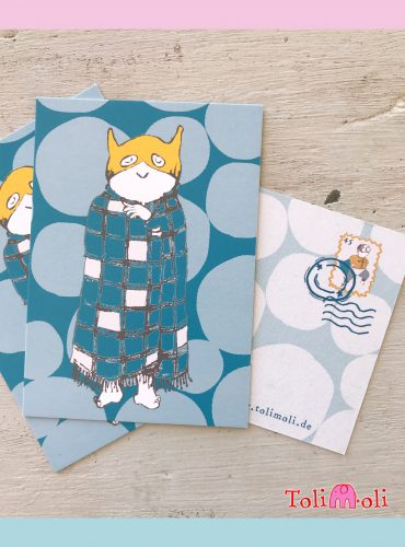 "5-pack Postcard ""Didi Blanket"""