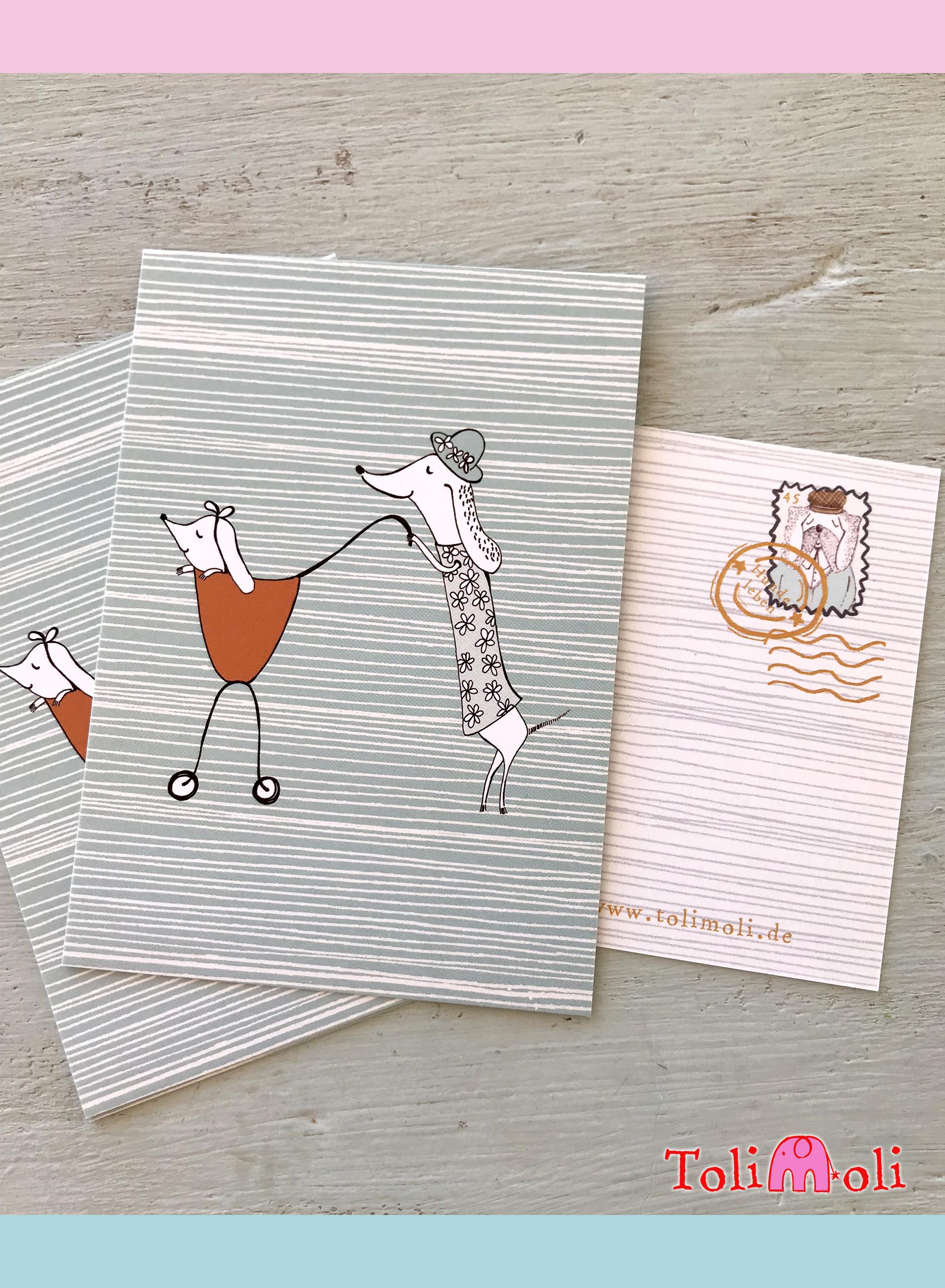 "Postkarte ""Mutterglück"""