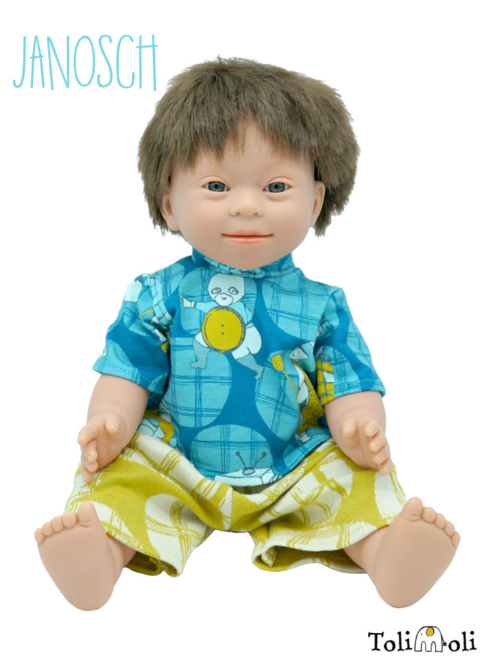 *Janosch* Doll with Down Syndrome