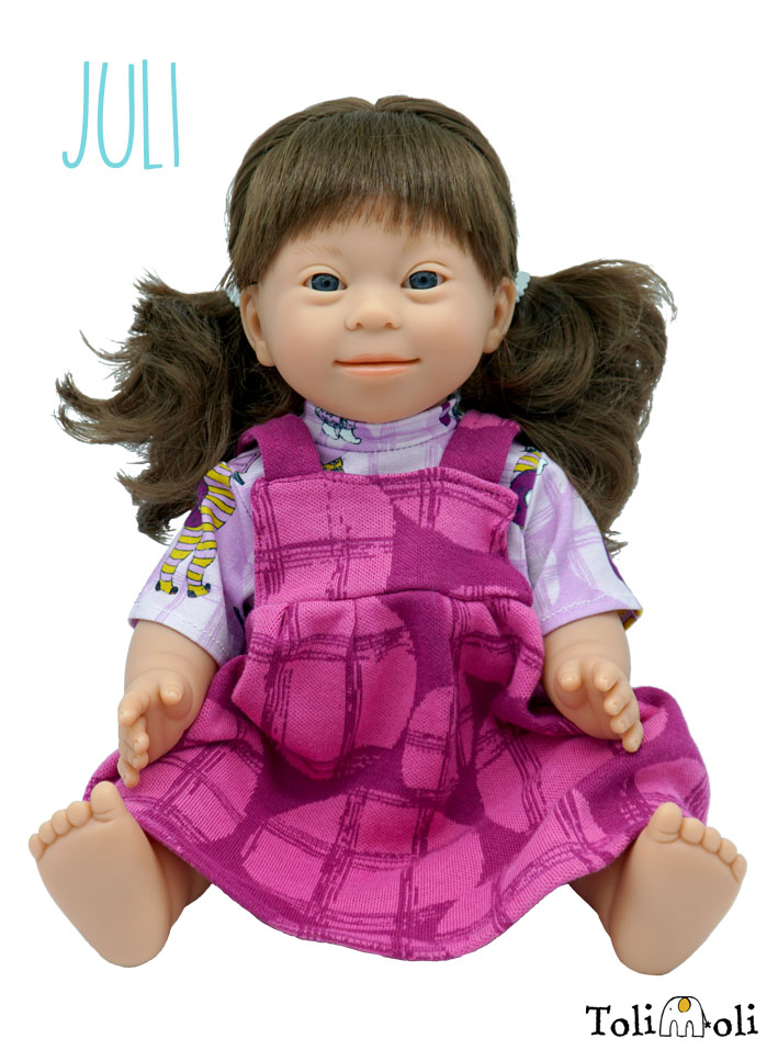 *Juli* Doll with Down Syndrome