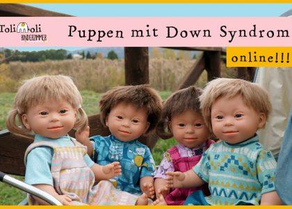 Puppen mit Down Syndrom für mehr Vielfalt im Kinderzimmer