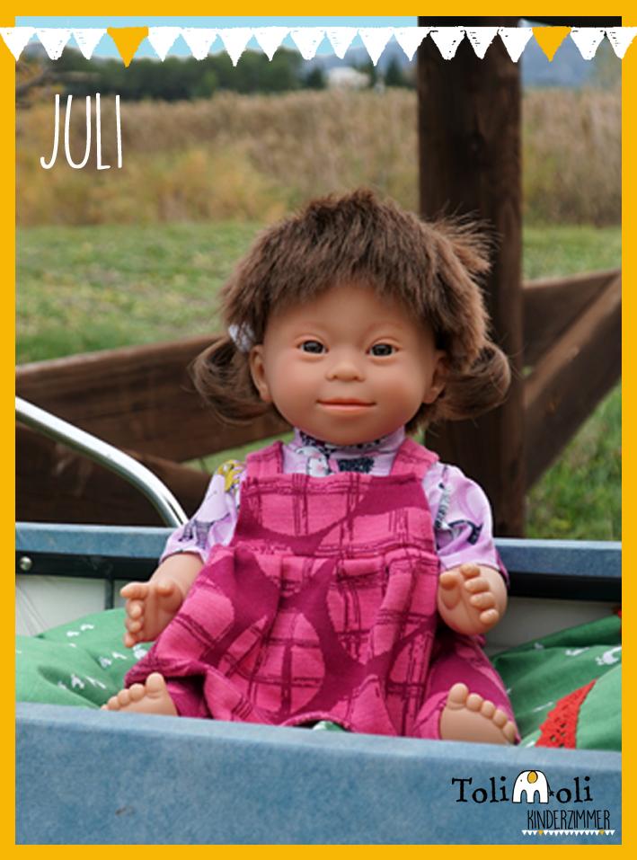 *Juli* Puppe mit Down Syndrom