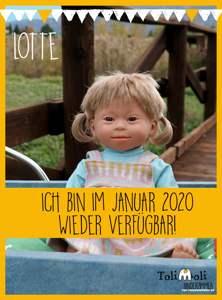 *Lotte* Puppe mit Down Syndrom