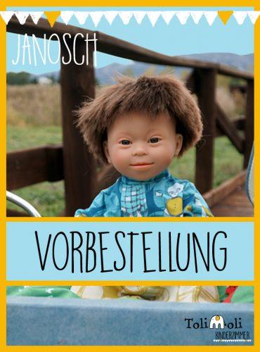 VORBESTELLUNG *Janosch* Puppe mit Down Syndrom