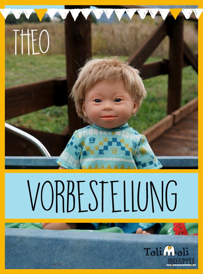 VORBESTELLUNG *Theo* Puppe mit Down Syndrom