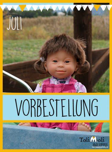 VORBESTELLUNG *Juli* Puppe mit Down Syndrom