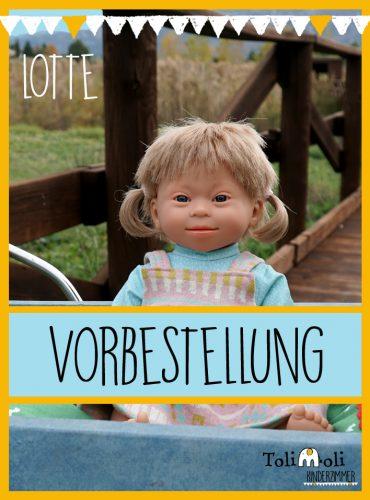 VORBESTELLUNG *Lotte* Puppe mit Down Syndrom