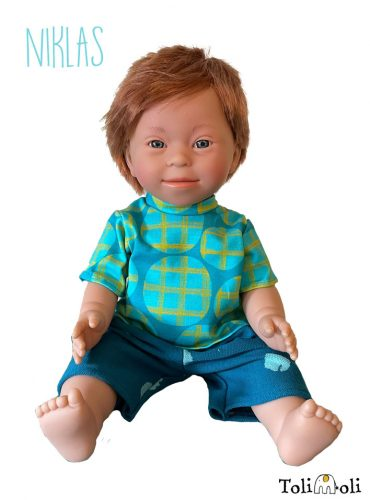 *Niklas* Doll with Down Syndrome