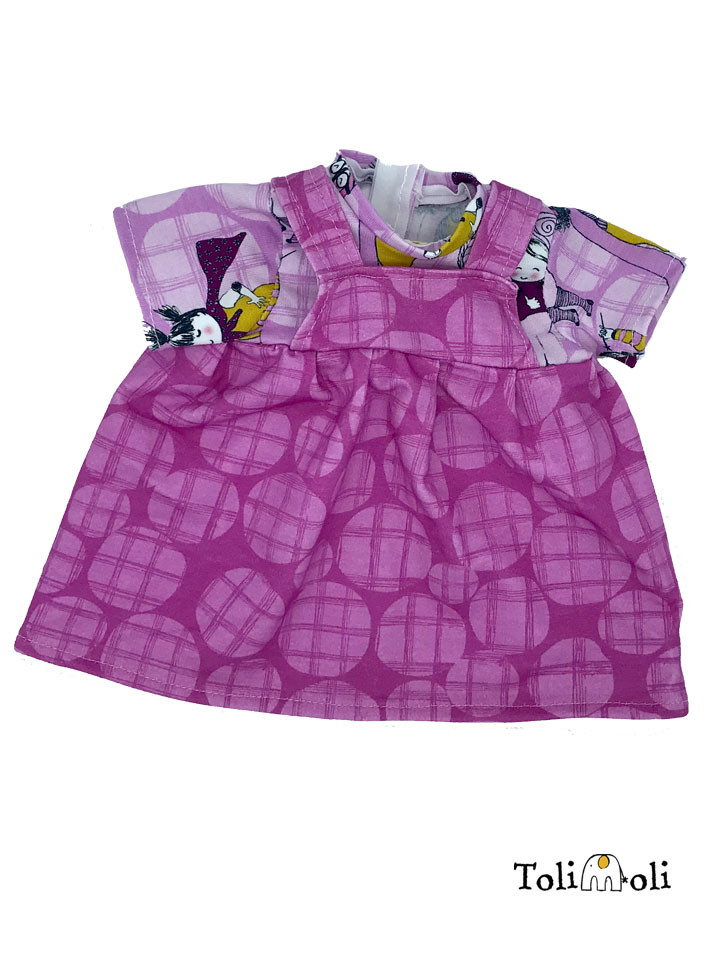 Puppenkleidung: Kleid #5