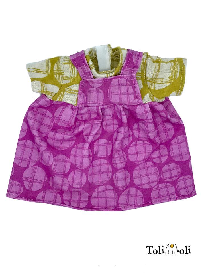 Puppenkleidung: Kleid #6