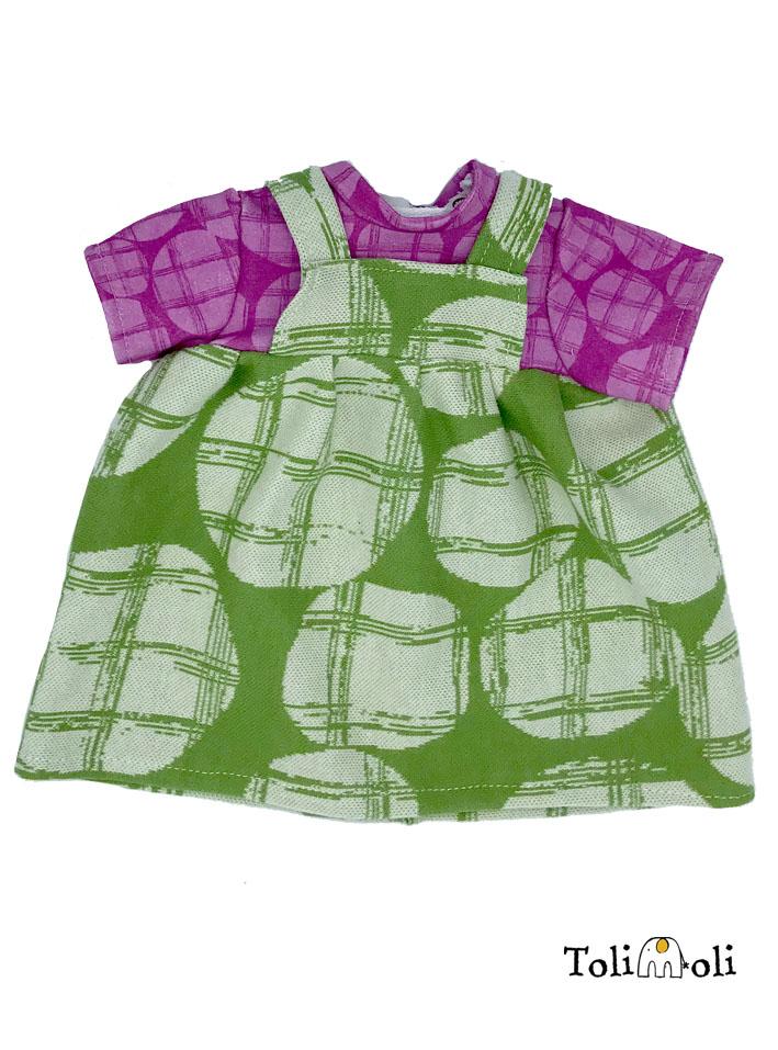 Puppenkleidung: Kleid #4