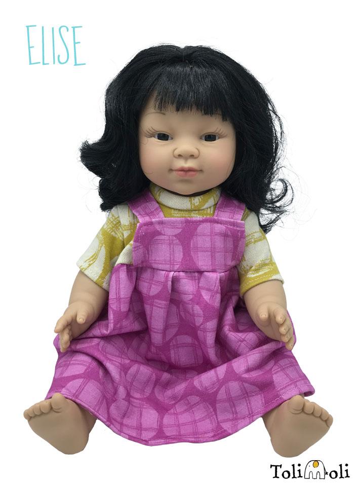*Elise* Asiatisch gelesene Puppe