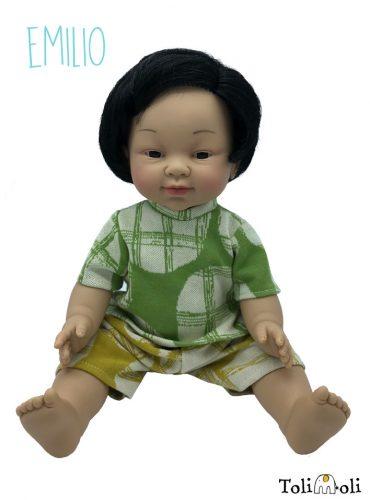 *Emilio* Doll with Asian appearance