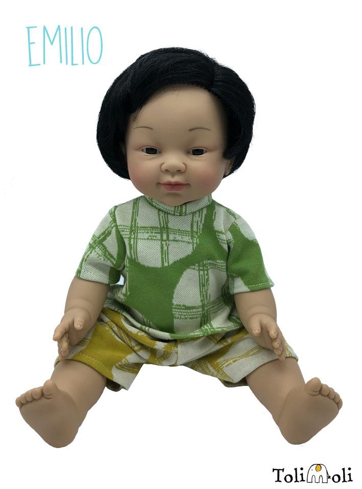 *Emilio* Asiatisch gelesene Puppe